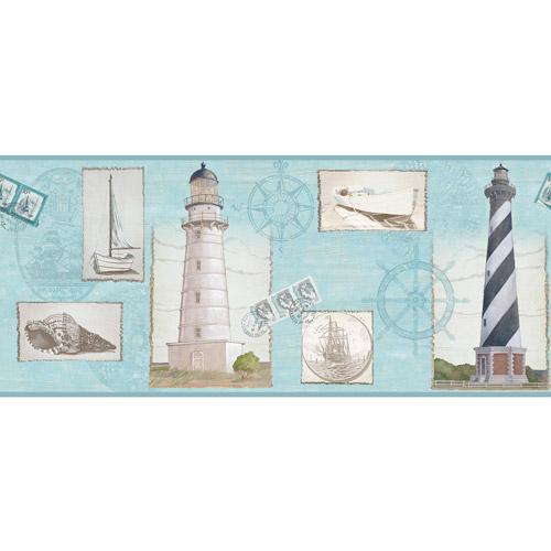 navy blue wallpaper border   weddingdressincom 500x500