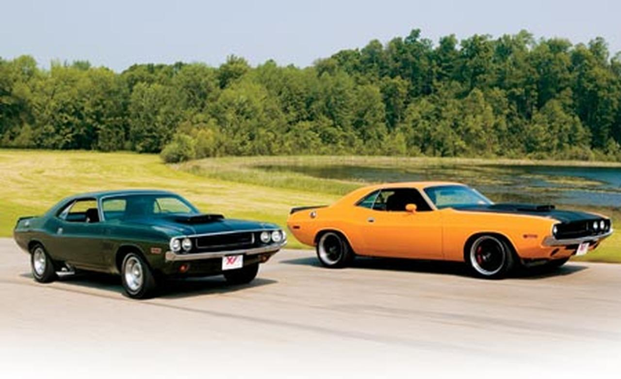 1970 Dodge Challenger TA and XV Dodge Challenger 1280x782