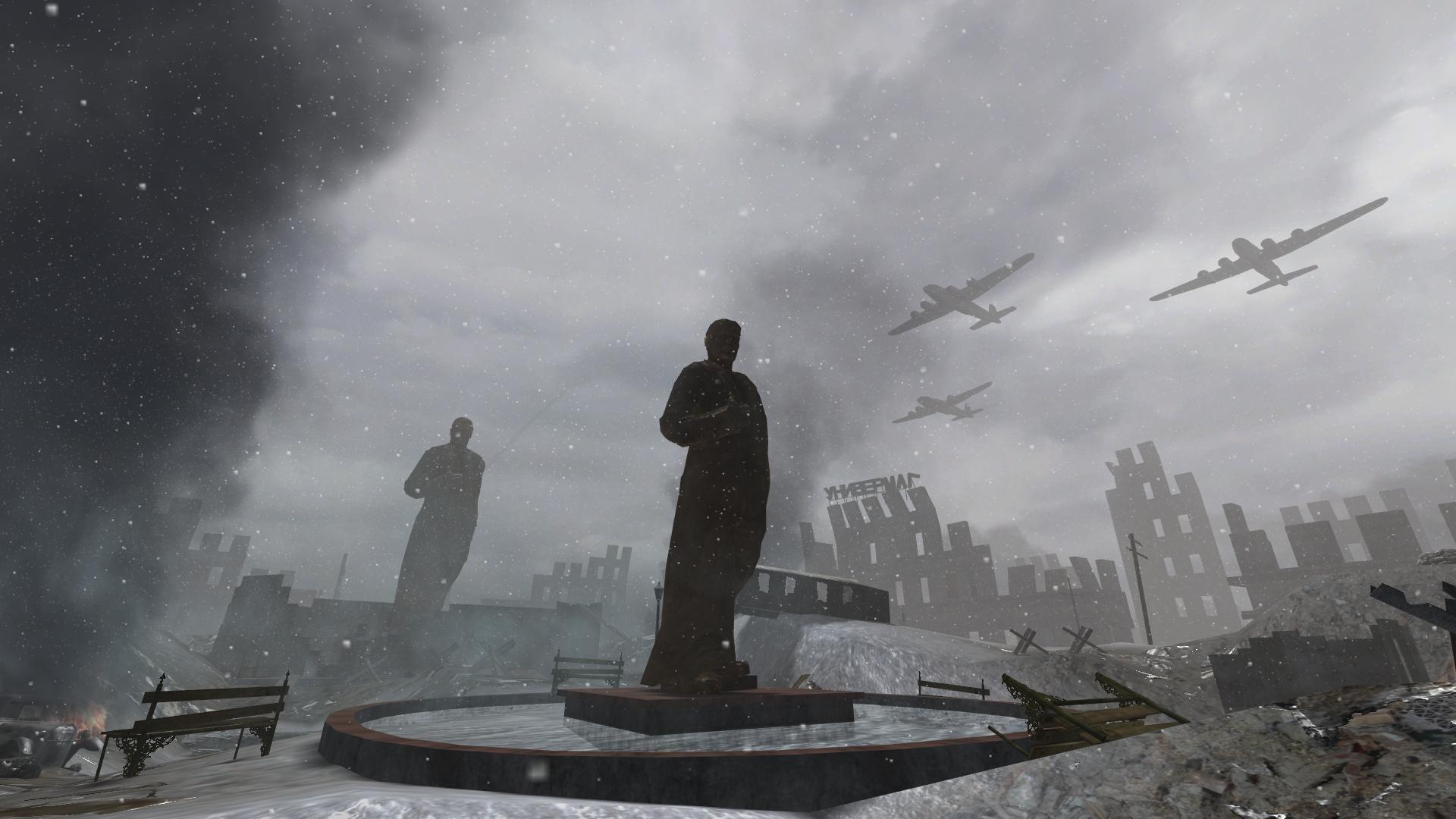 Redsquare Massacre NE [Call of Duty 2 ] [Maps] 1920x1080