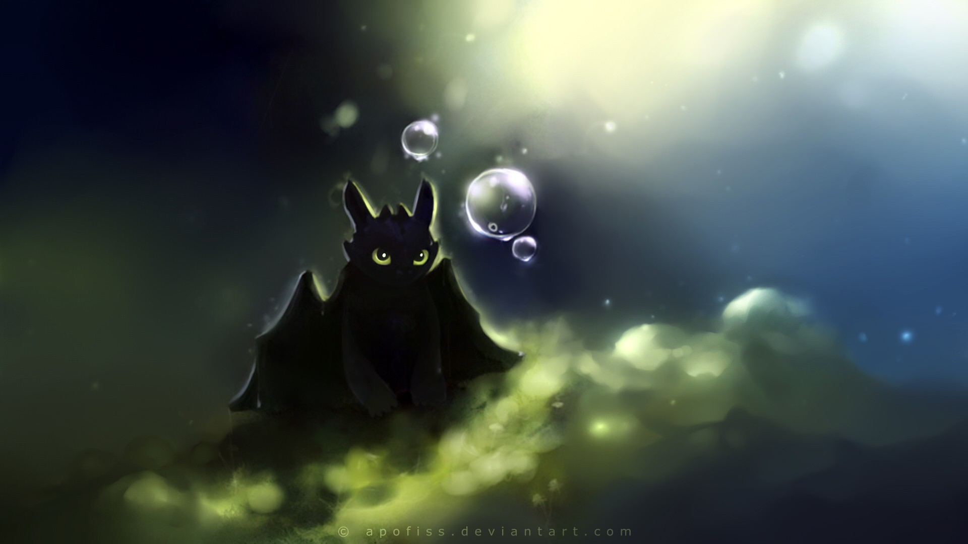 Paper Toothless Wallpaper 1920x1080 Paper Toothless Artwork Apofiss 1920x1080