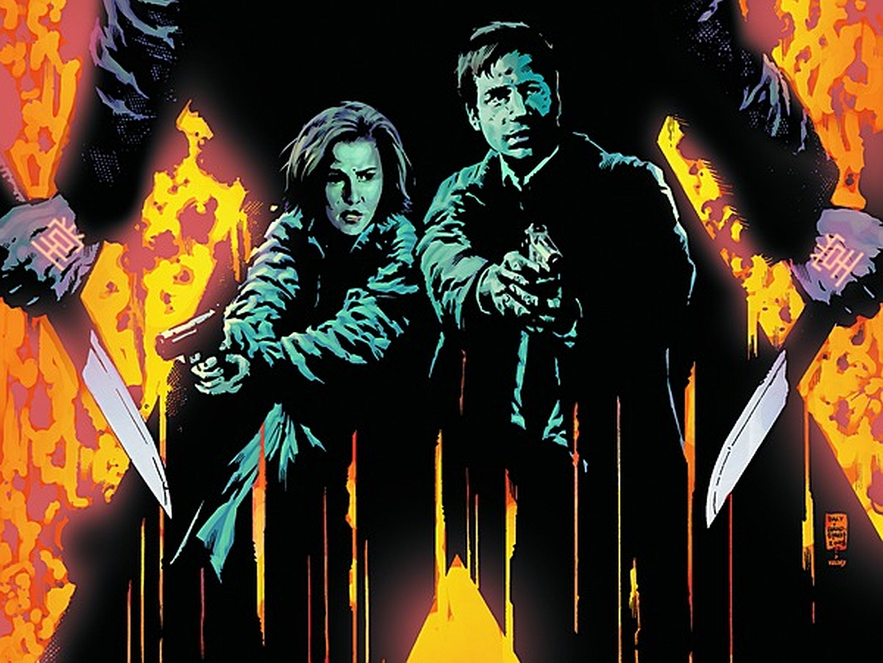 Coders Wallpaper Abyss Explore the Collection The X Files Comics X 1280x961