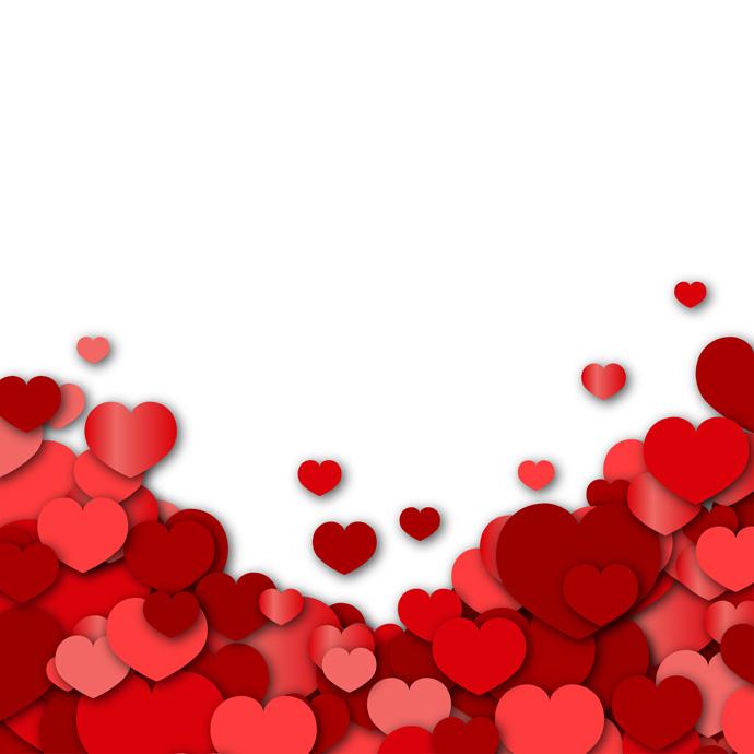 valentines day background greatvectors greatvectors