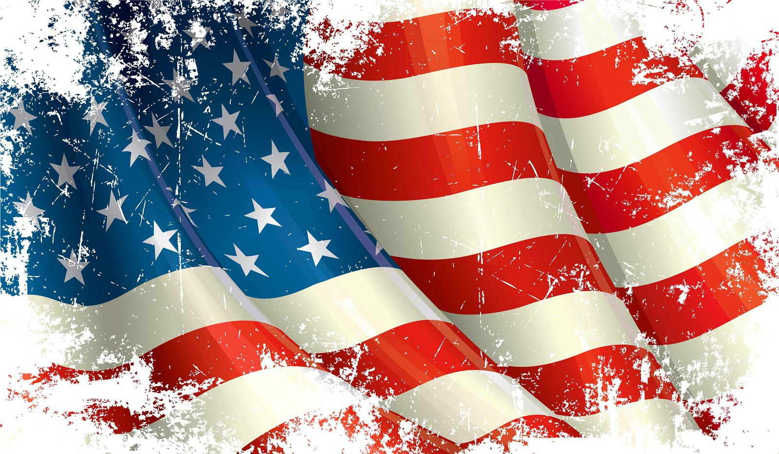 Us Flag Background Images   HashTag Bg 1600x932