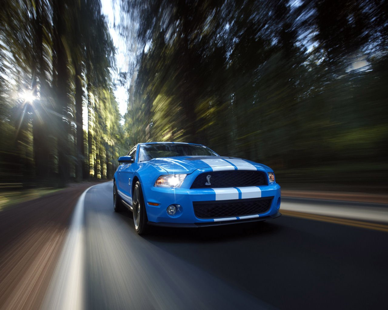 Ford Mustang Desktop Wallpaper 1280x1024