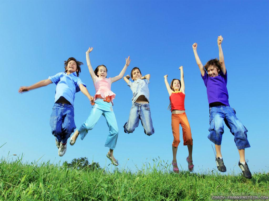 Wallpaper Kids joy Spring Spring Season Wallpaper For Kids 1024x768
