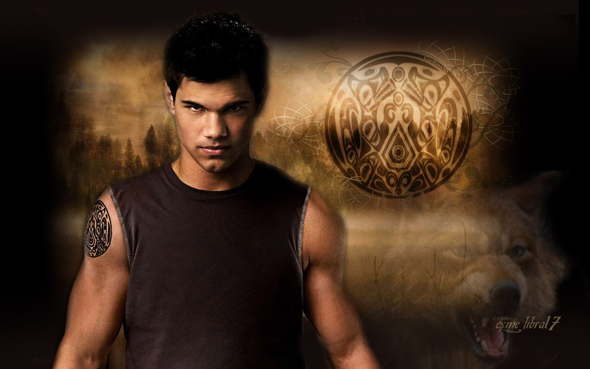 Download Jacob Twilight Wallpapers 1920x1200
