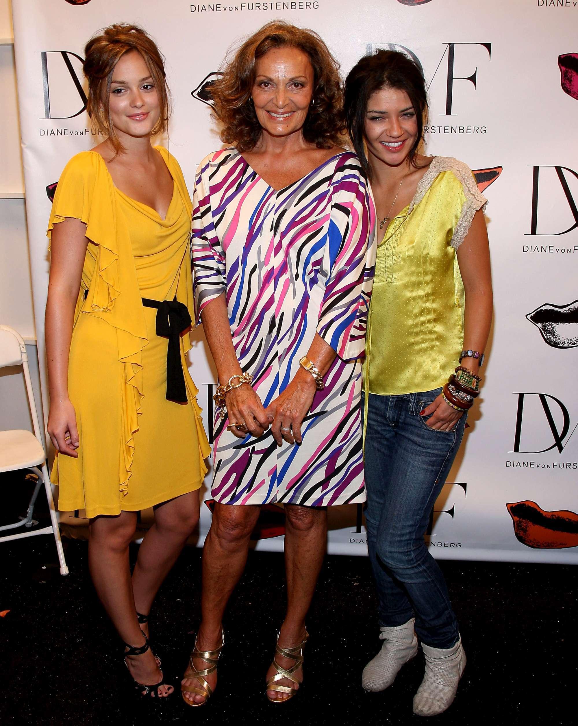 Gossip Girl images GG actors Diane Von Furstenberg Front Row HD 2000x2512