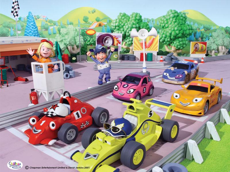 Roary The Racing Car Cast
