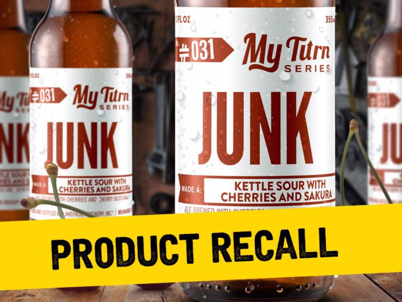 Lakefront Brewery recalls bottles of My Turn Junk due to risk of 1600x1200