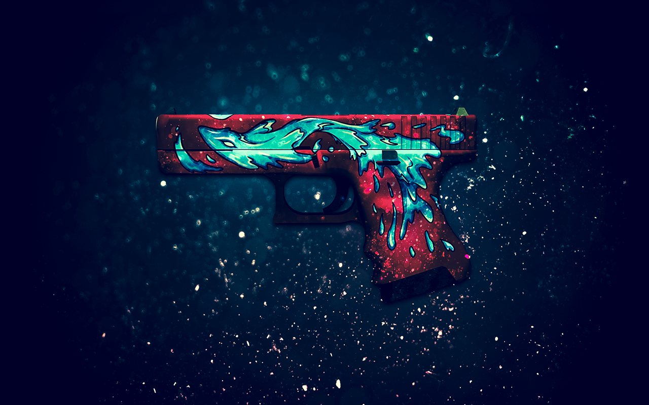CSGO Weapon Skin Wallpapers on Behance 1280x800