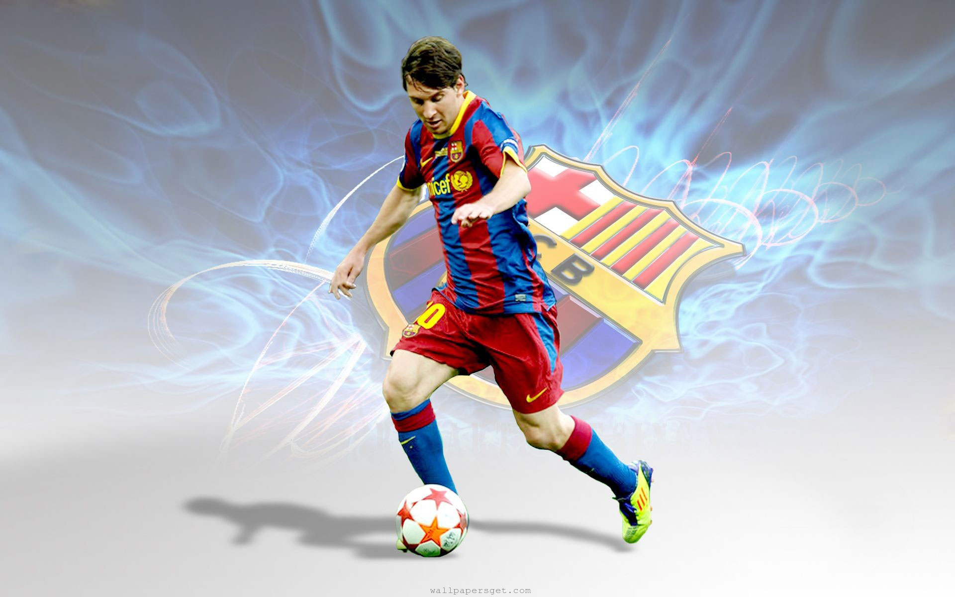 Lionel Messi Download Backgrounds HD 1920x1200