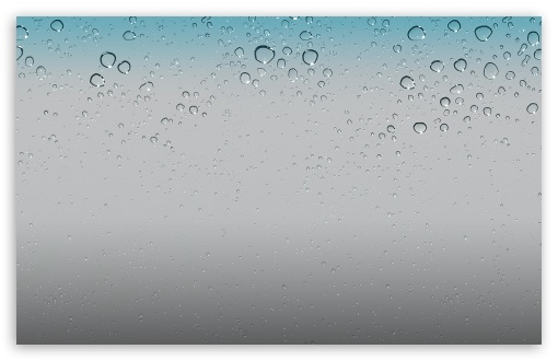 IOS 5 Wallpaper   Water Drops HD wallpaper for Standard 43 54 510x330