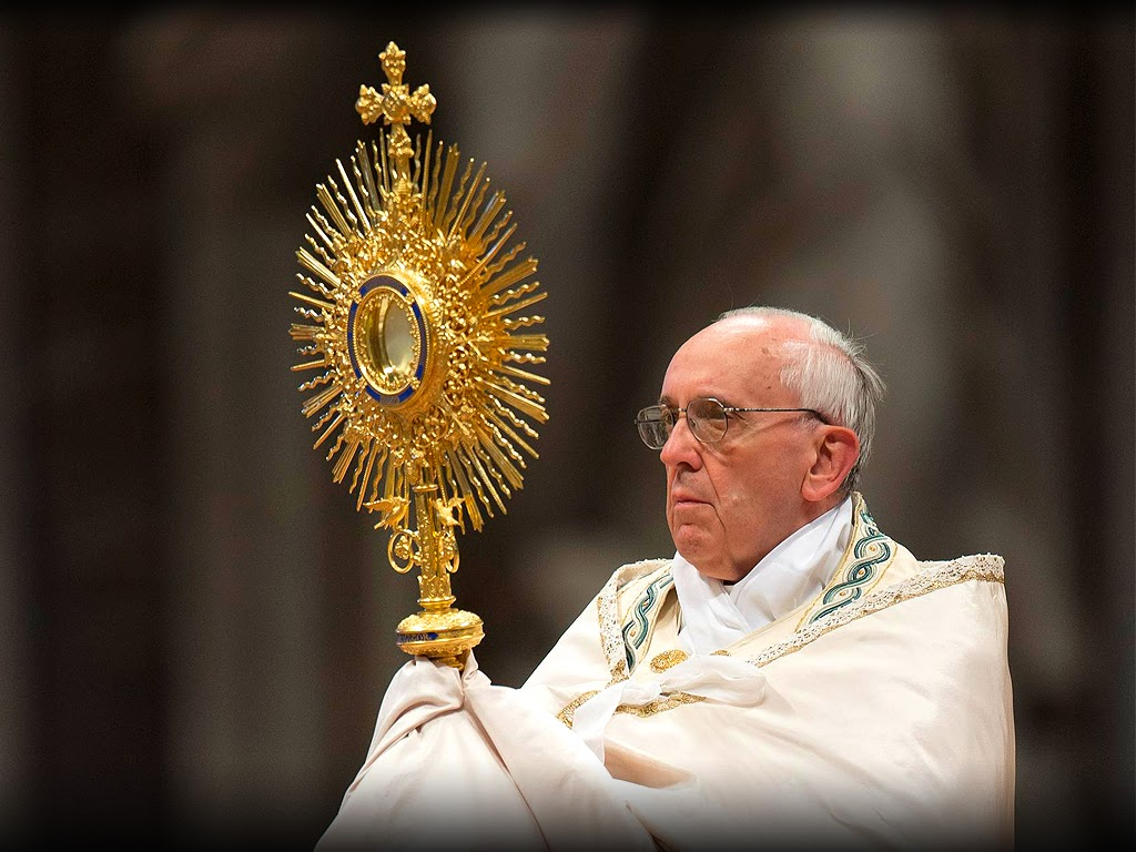 Holy Mass images Pope Francis 1024x768