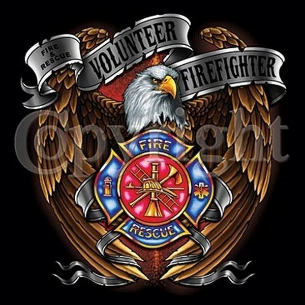 USA VOLUNTEER FIREFIGHTER BALD EAGLE AXES EMBLEM BLACK T SHIRT LS SS S 600x600