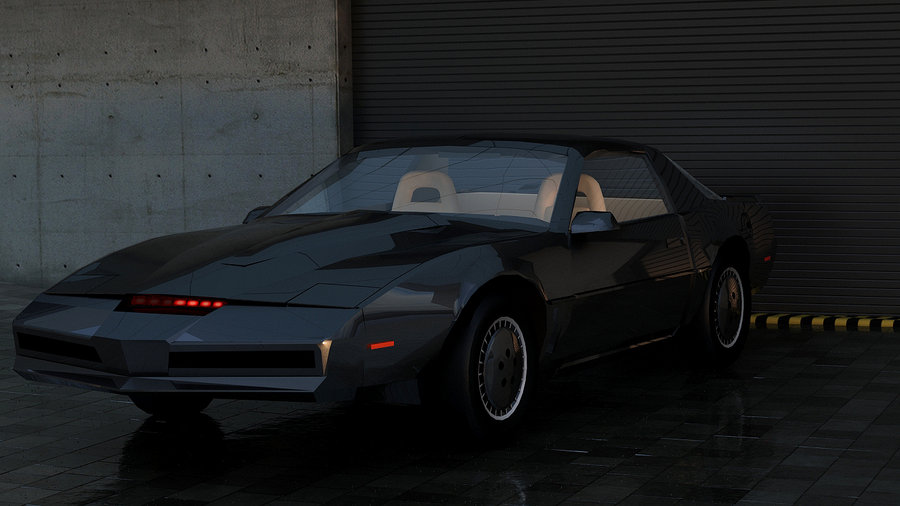 Knight Rider KITT Art The Car Wallpapers 900x506