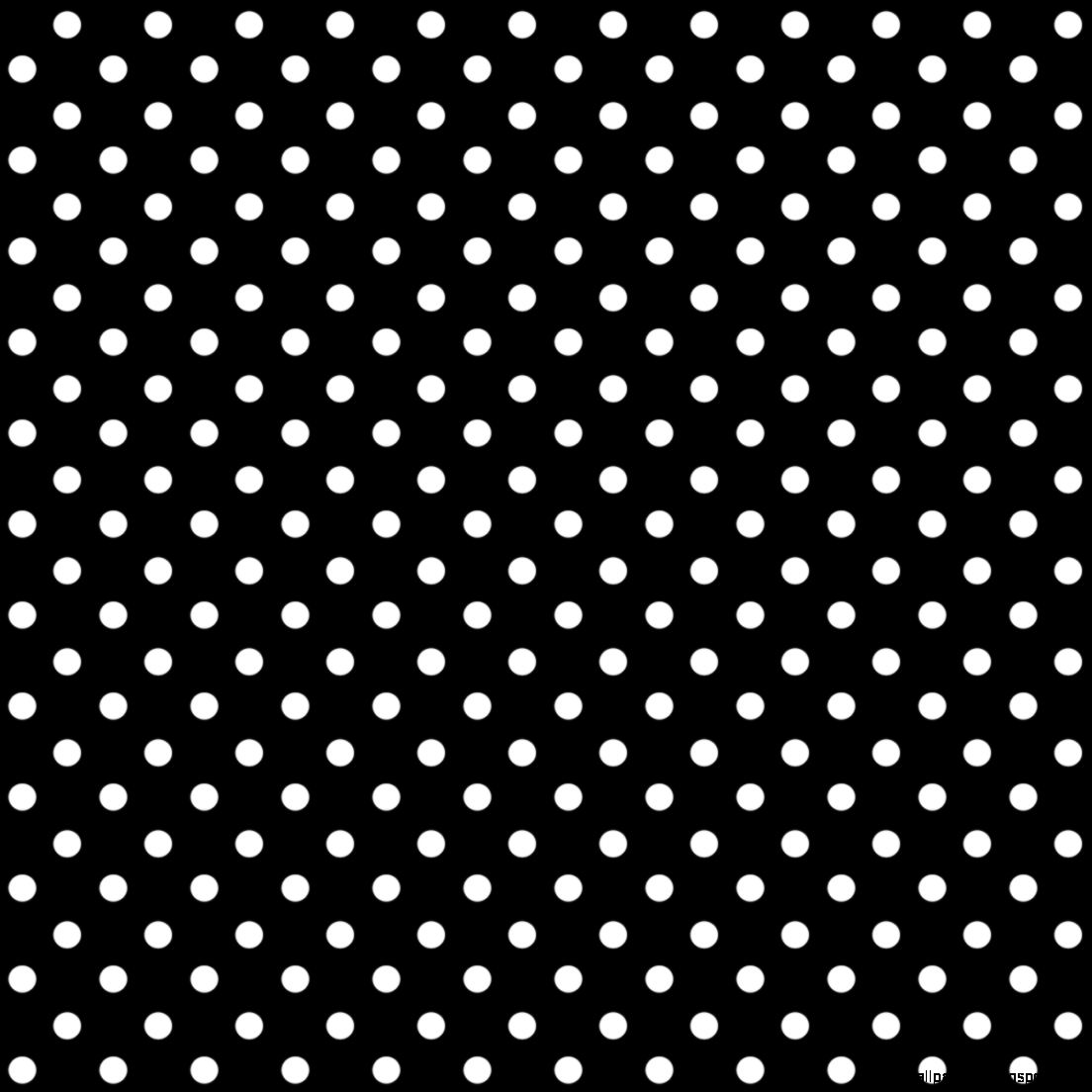 Black And White Polka Dot Pattern Seamless 35 Black And White