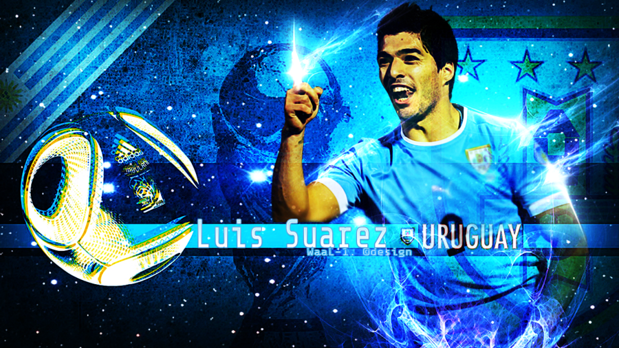 Luis Suarez Wallpaper by WaaaLi 900x506