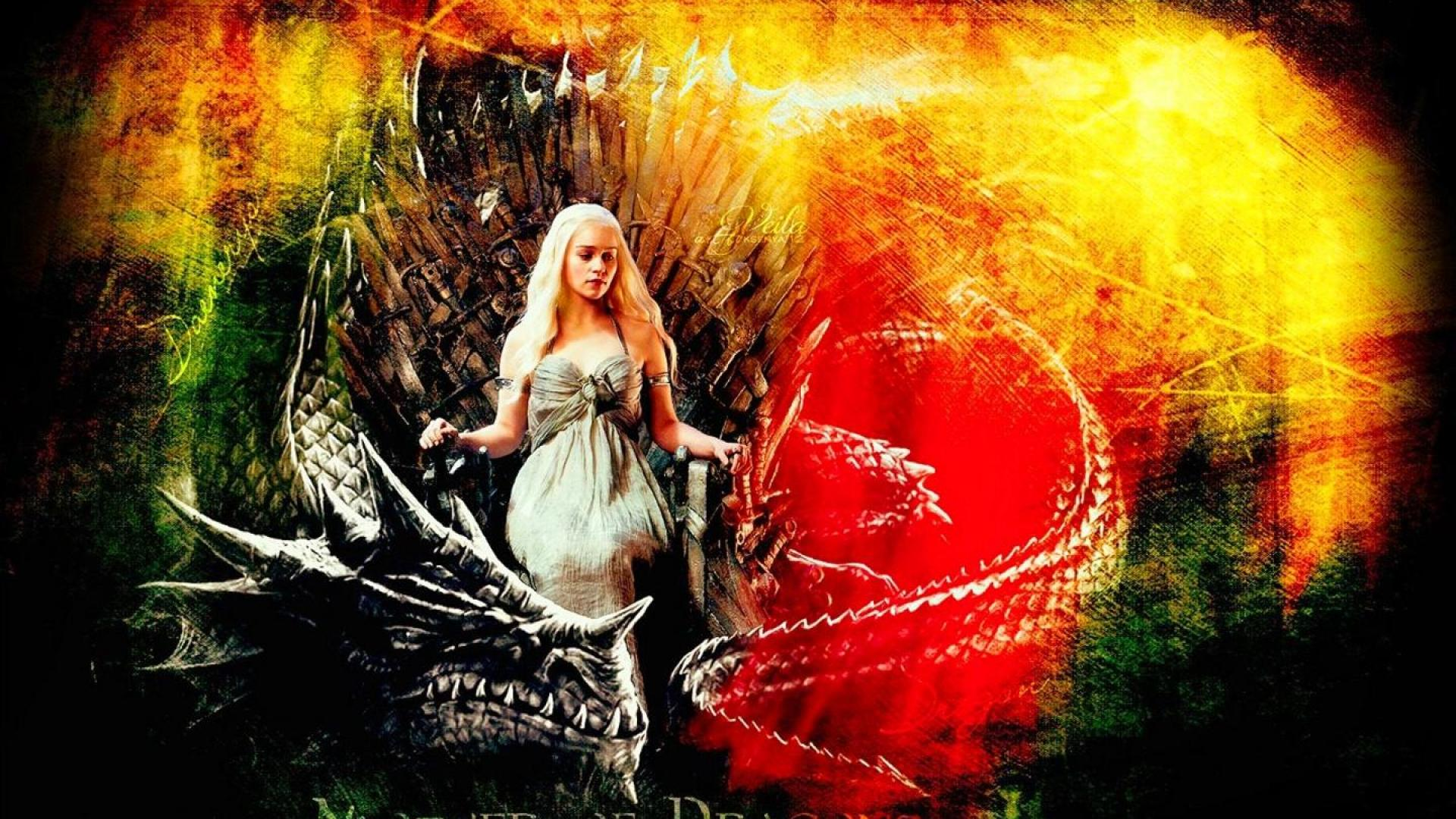Game of Thrones Mother of Dragons   Wallpaper High Definition High 1920x1080