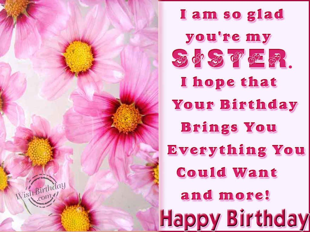 Free Download Happy Birthday Sister Wallpapers Happy Summer