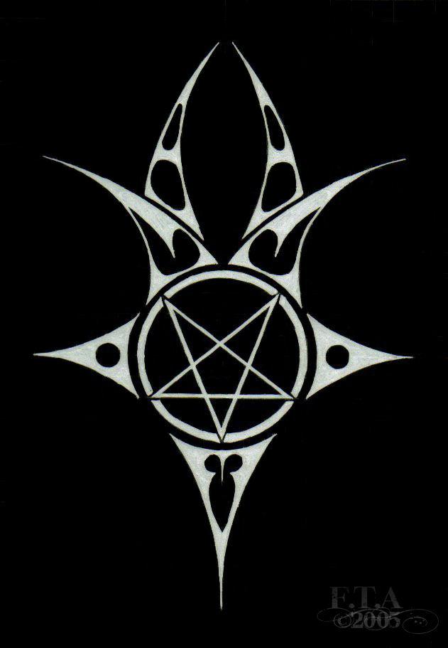Satanic Pentagram Wallpaper - WallpaperSafari