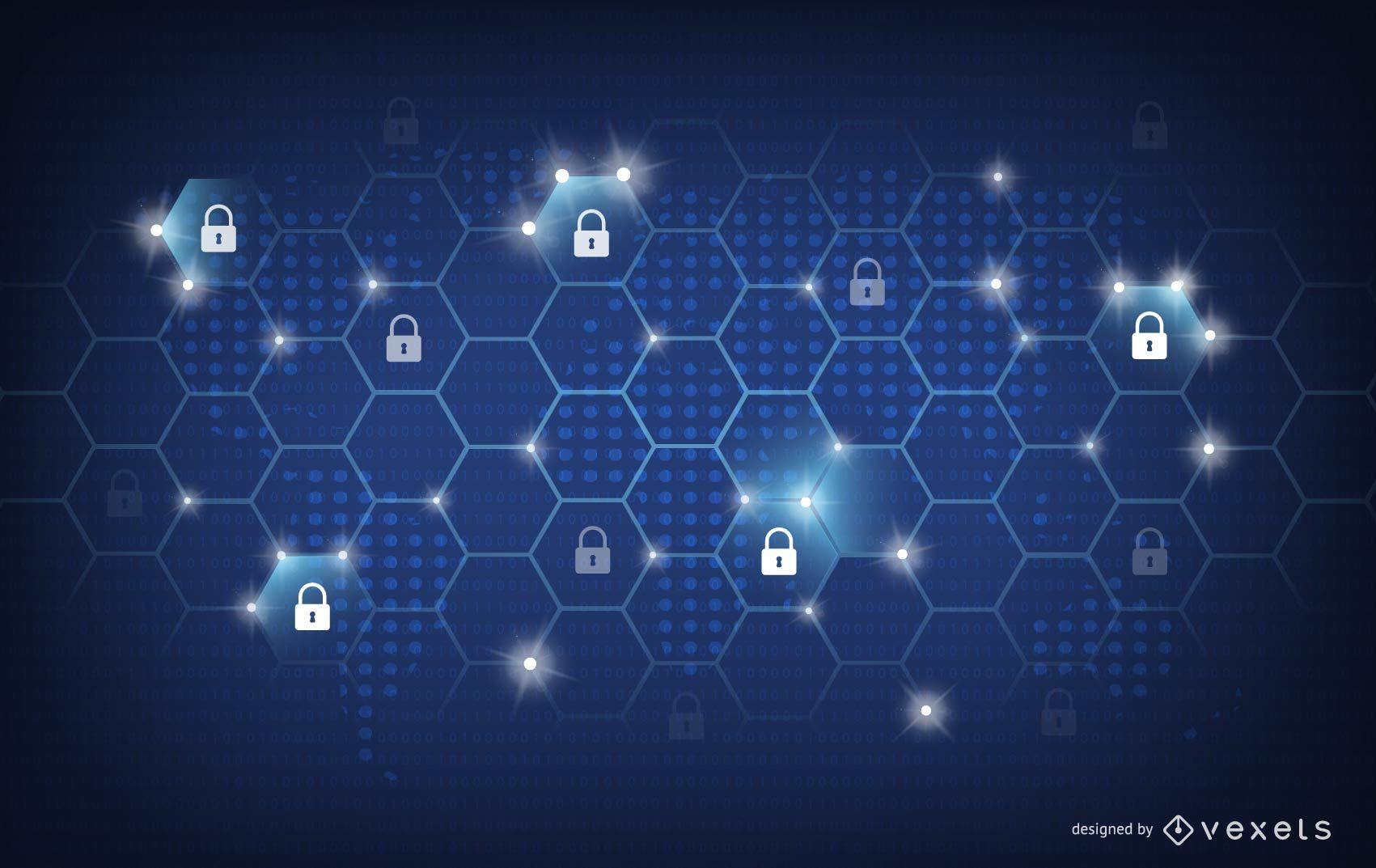 Security Background Design   Vector Download 1701x1073