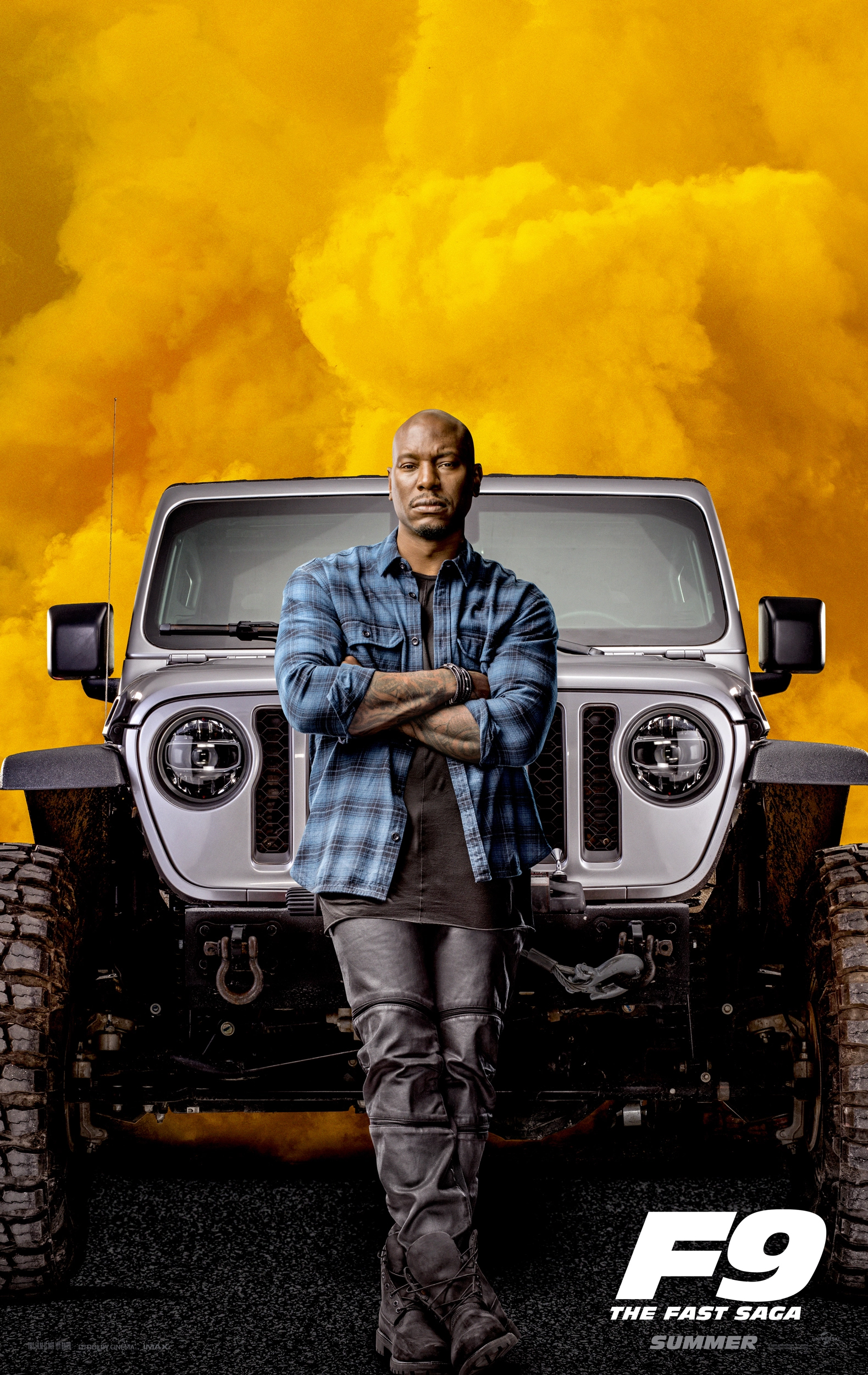 Tyrese Gibson   Fast and Furious 9 Poster   Download Mobile Phone 1579x2500