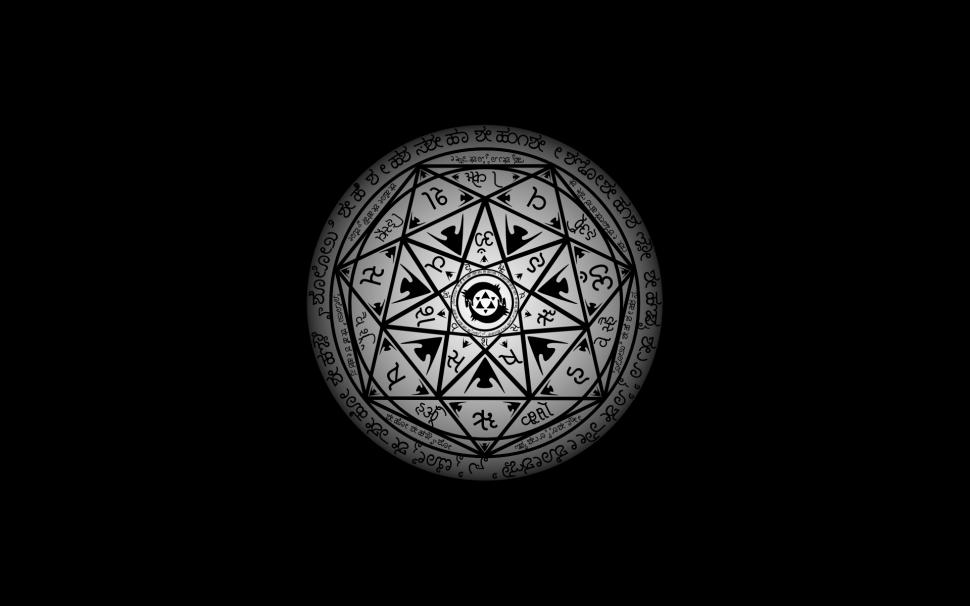 Free Download Fullmetal Alchemist Black Transmutation Circle