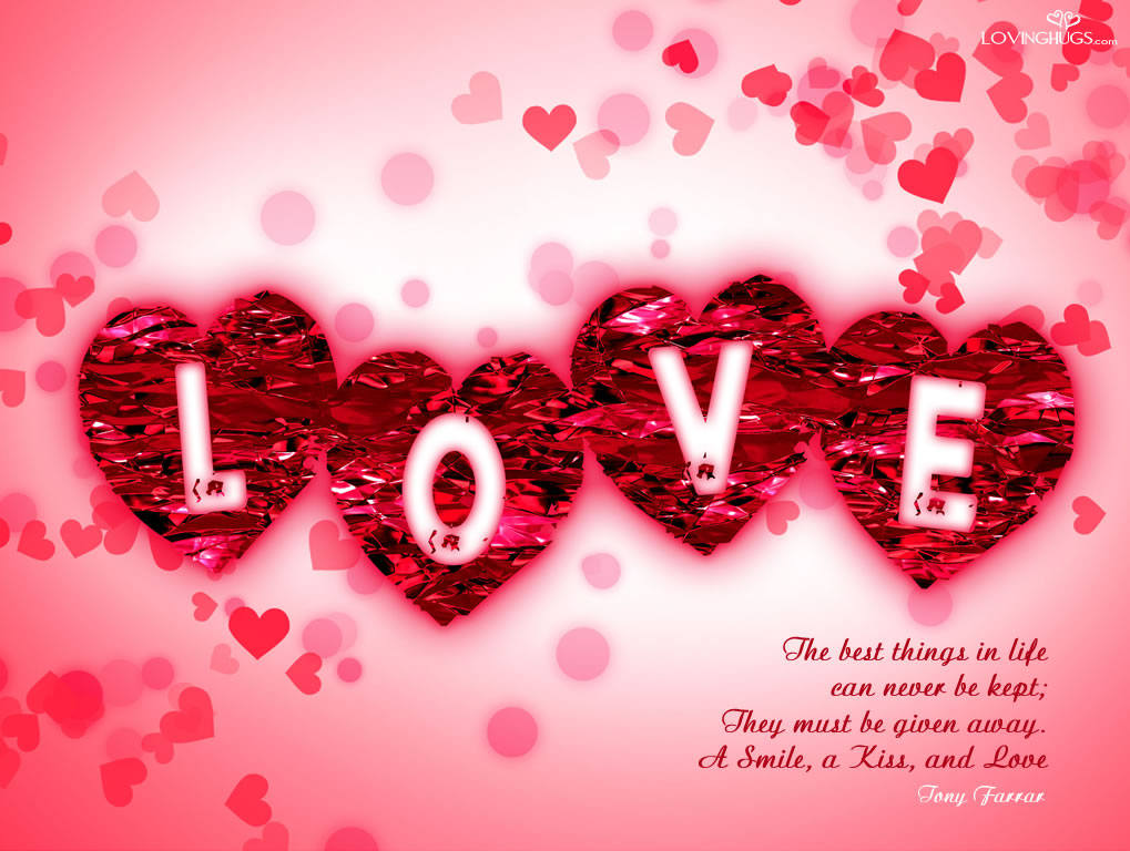 LOVE MESSAGES QUOTES IMAGES PICTURES POEMS WALLPAPERS Love Wallpapers 1019x768