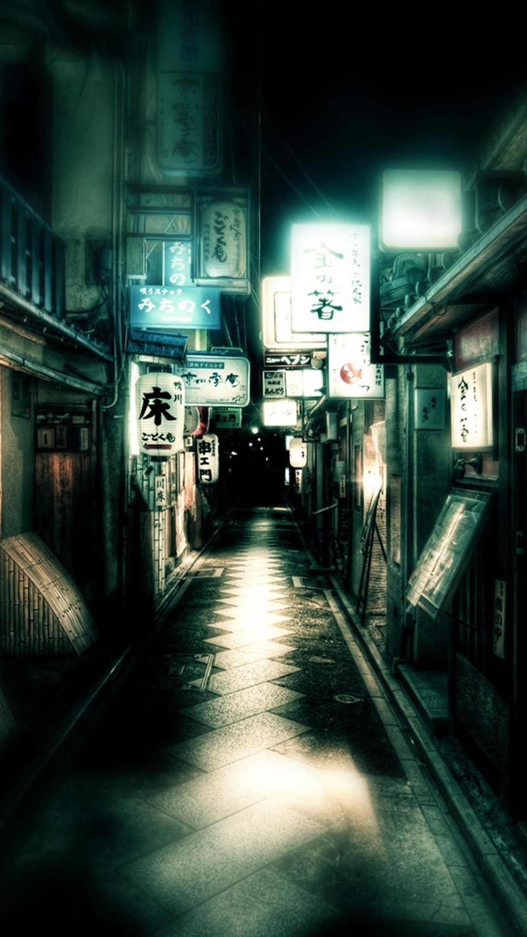 Japan Dark Street iPhone 6 Plus HD Wallpaper iPod Wallpaper HD 1080x1920