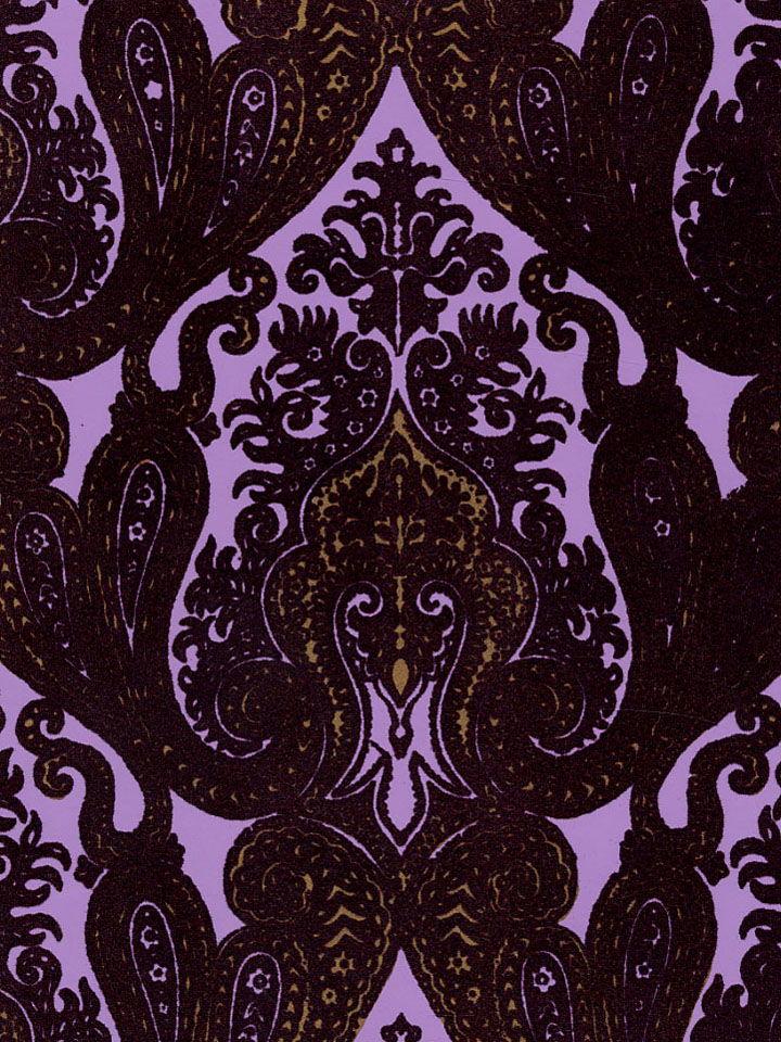 Velvet Damask Wallpaper 720x960