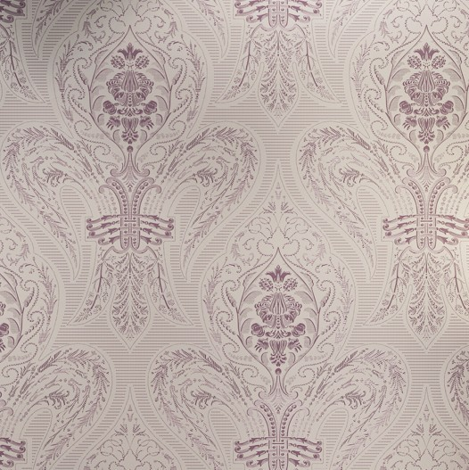 Dark Purple Damask Wallpaper Modern purple damask fabric 526x527
