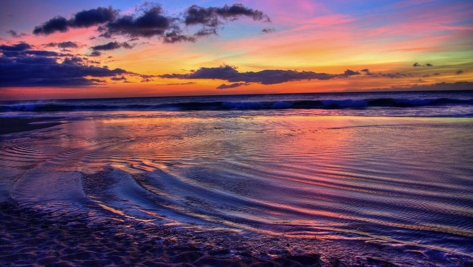 Daniel Herr: Hawaiian Sunset Wallpaper
