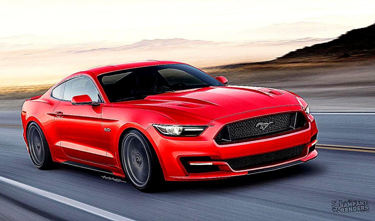2015 Ford Mustang New Style Full Hd Wallpaper Desktop HD Wallpapers 1238x729