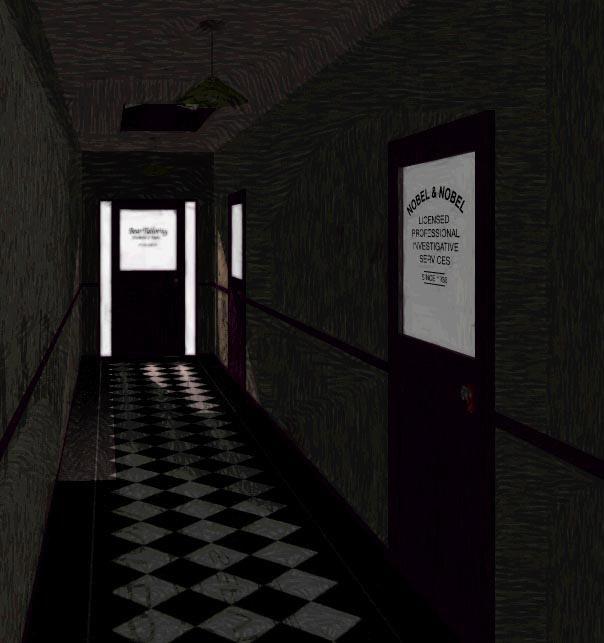 Detective Noir Wallpaper The film noir hallway 604x643