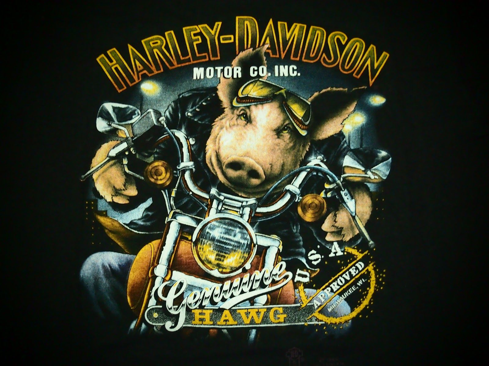 Harley Davidson 3D Wallpapers 1600x1200