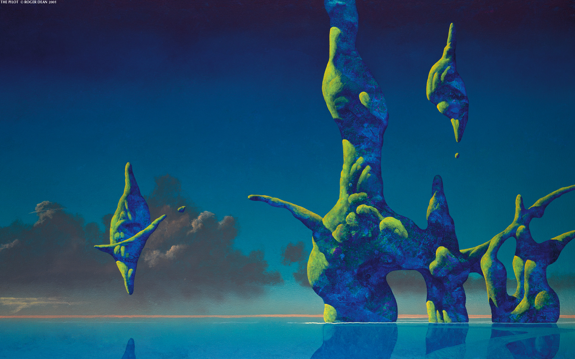 50 Yes Roger Dean Wallpaper On Wallpapersafari