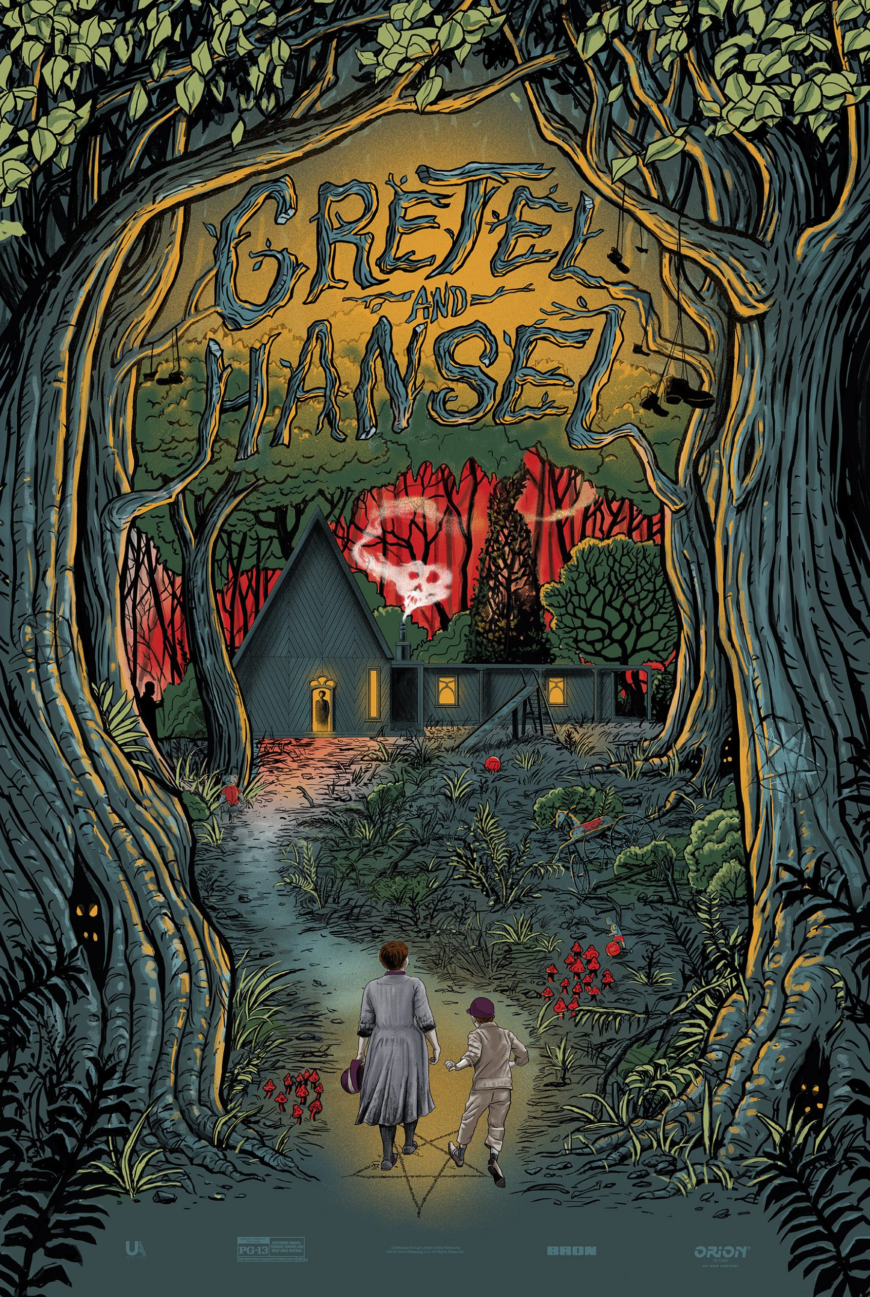 Gretel Hansel Poster from Gary Pullin Reveals the Creepy Forest 1718x2560