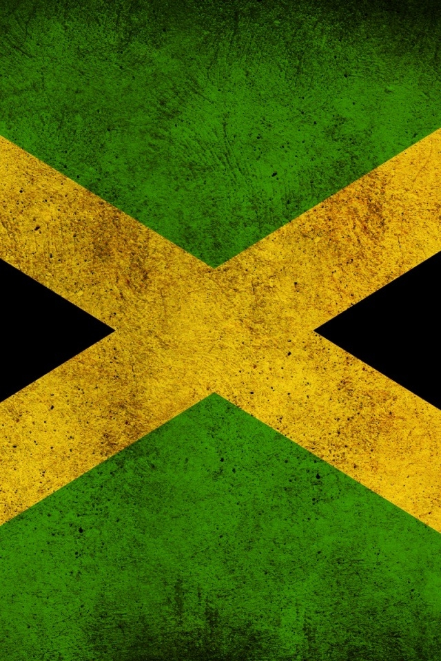 Flag of Jamaica iPhone HD Wallpaper iPhone HD Wallpaper download 640x960