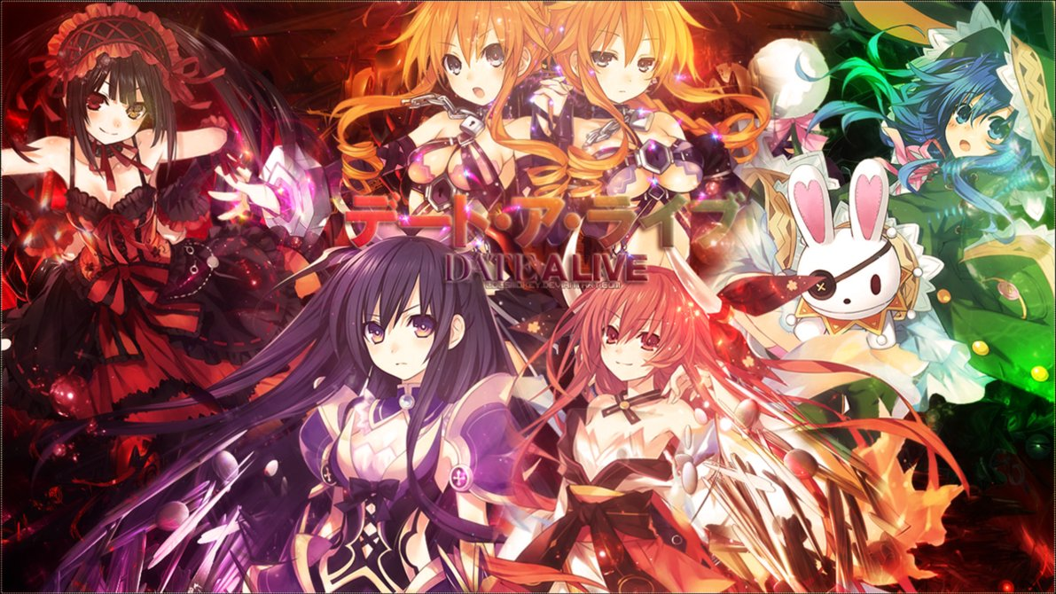Free Download Date A Live Origami Anime And Dates 1191x670 For