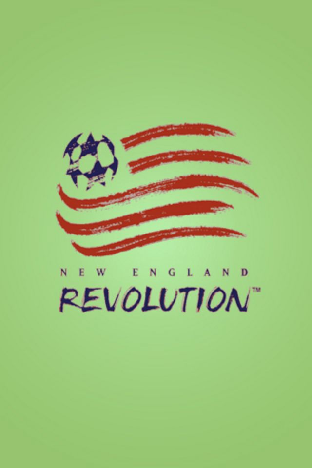 New England Revolution iPhone Wallpaper HD 640x960