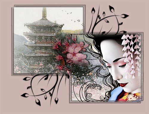 Photo Temple Geisha Wallpaper Asian album Cherylee21 Fotkicom 500x383