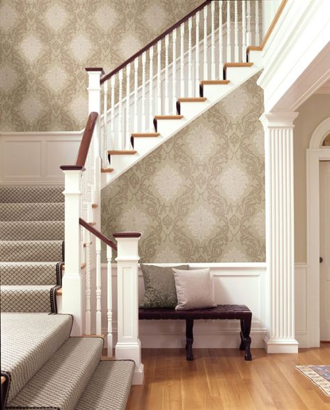 Foyer Stair Runners : Wallpaper for small foyer wallpapersafari