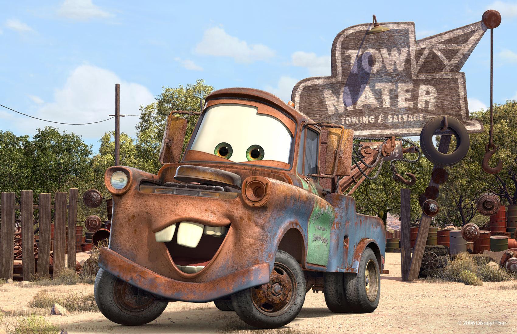 a070382595 Tow Mater Disney Pixar Cars Photo 8365921 1700x1100