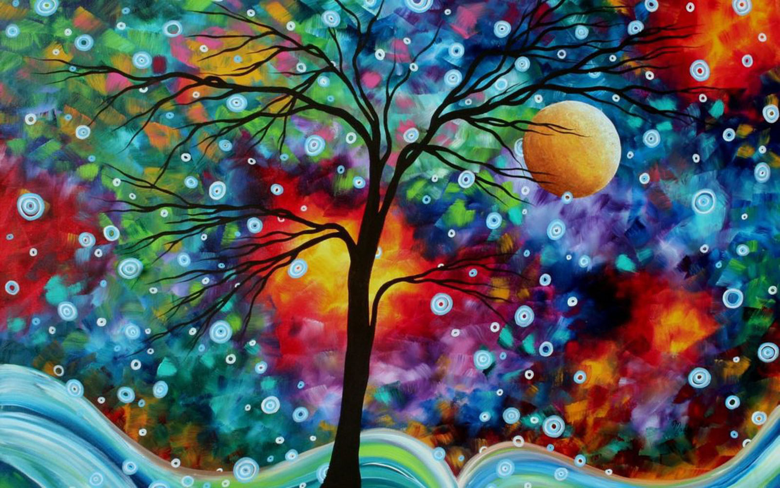 Tag Colorful Paintings Wallpapers Backgrounds PhotosImages and 1600x1000