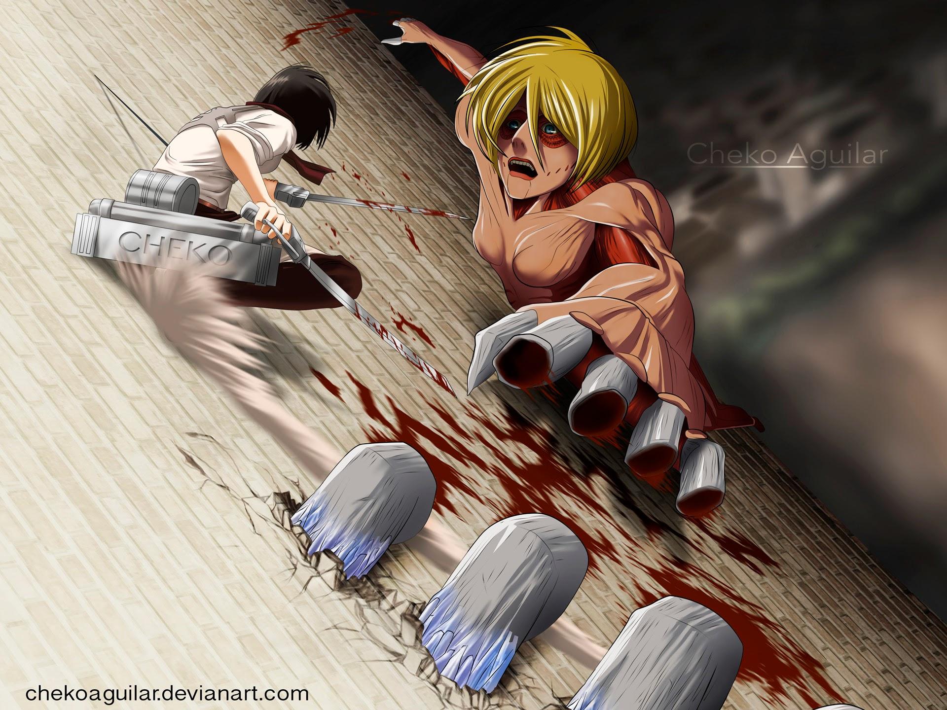 Attack on Titan Mikasa Wallpaper - WallpaperSafari