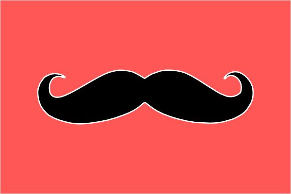 Mustache Clip Art At Clkercom Vector Online Royalty 600x400