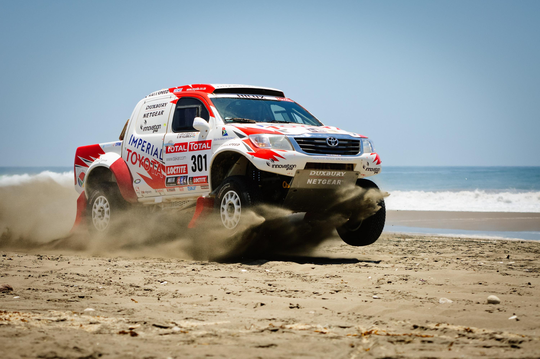 Dakar Dakar sea sand 4x4 offroad race racing wallpaper background 3000x1993