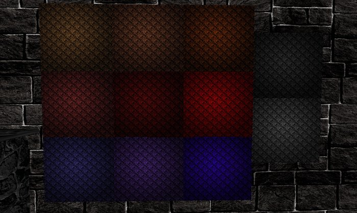 Life Marketplace   Victorian Goth Wallpaper Textures Vampire Colors 700x417
