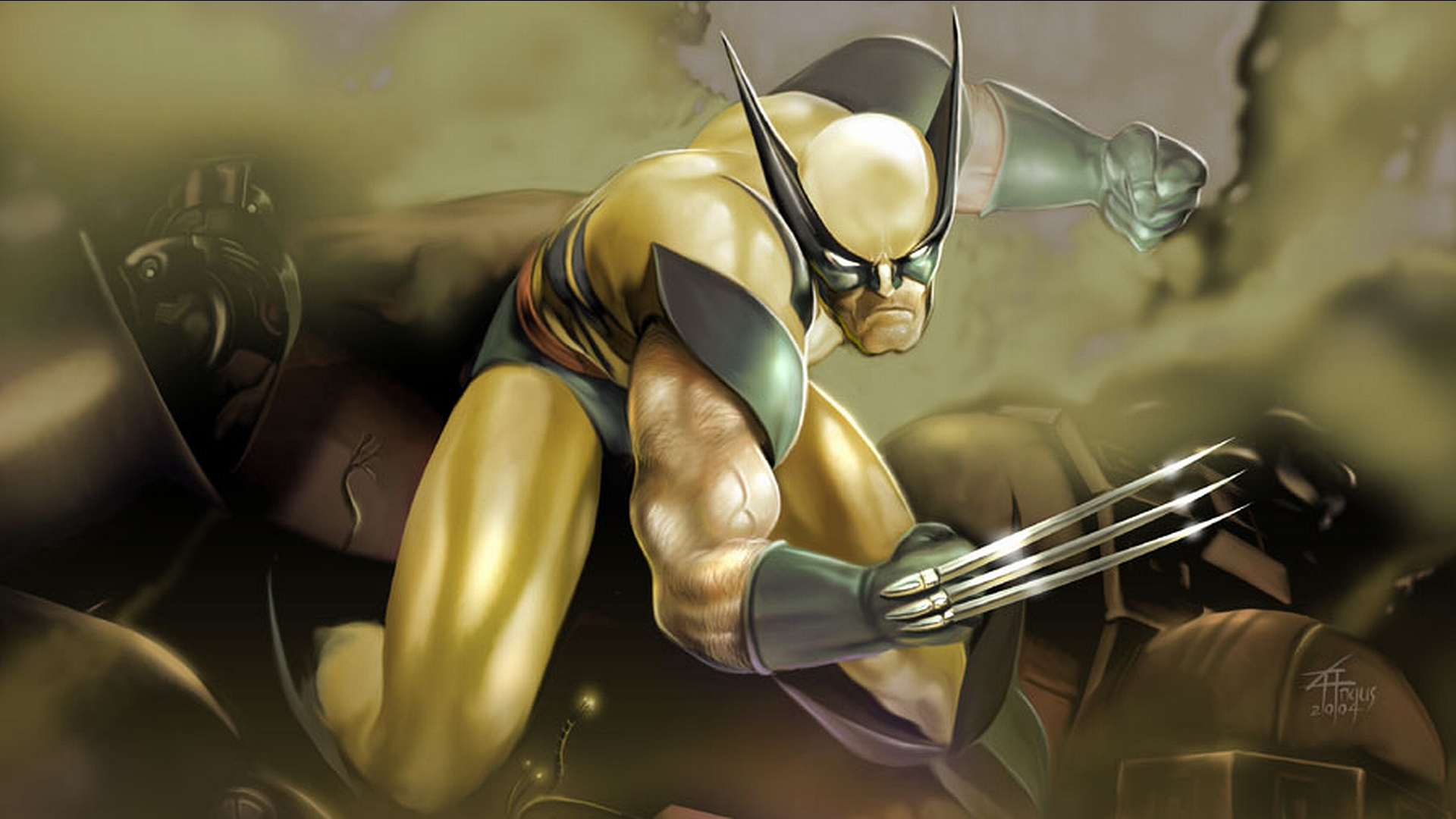 Wolverine Comic Wallpaper Wallpapersafari