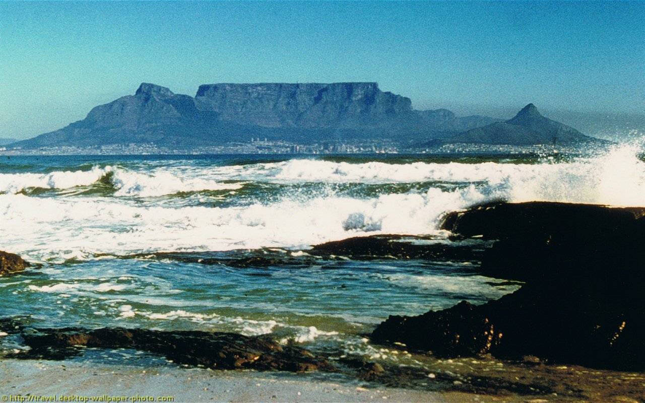 Table Mountain Wallpapers HD 1280x800